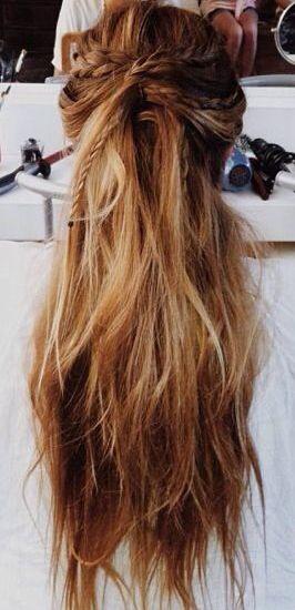 Remarkable 1000 Ideas About Hippie Braids On Pinterest Round Brush Marcel Short Hairstyles For Black Women Fulllsitofus