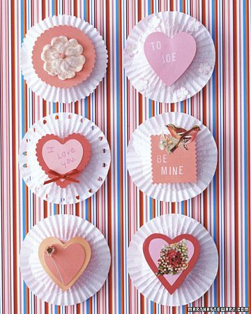 Cute V-day craft.Valentine'S Day, Valentine Crafts, Cupcake Liners, Valentine Day Crafts, Cupcakes Liner, Valentine Day Cards, Cupcakes Goodies, Valentine Ideas, Cupcakes Wrappers