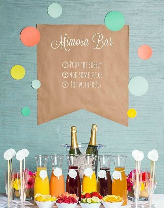 14 Creative Wedding Buffets to Save Your Budget via Brit + Co