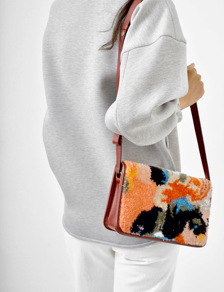 Rachel Comey ghent embroidery purse at Bird : ShopBird.com