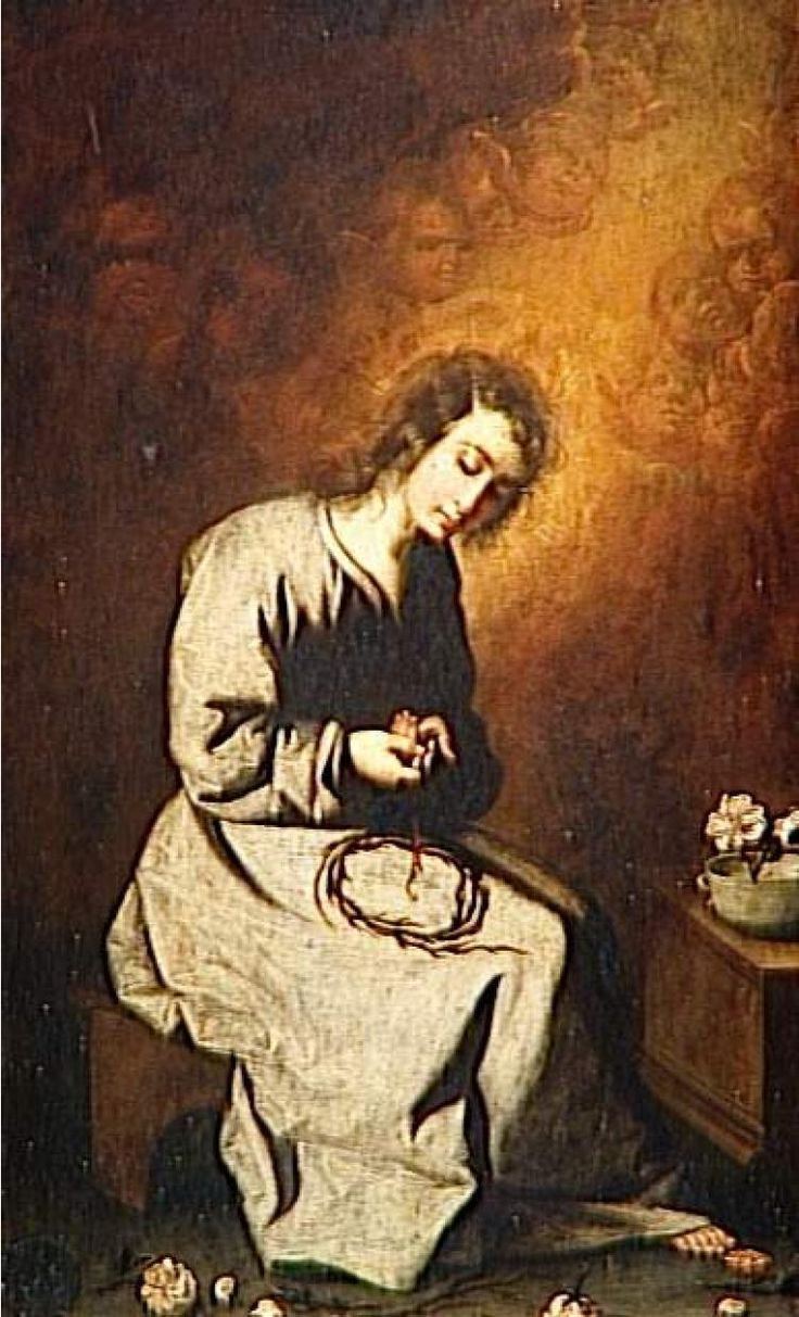 Франсиско де Сурбаран (1598–1664) (Испания). Иисус в детстве. Севилья.Музей изобразительных искусств (Испания).