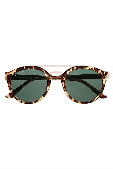 Witchery Girl: Round Metal Frame Sunglasses