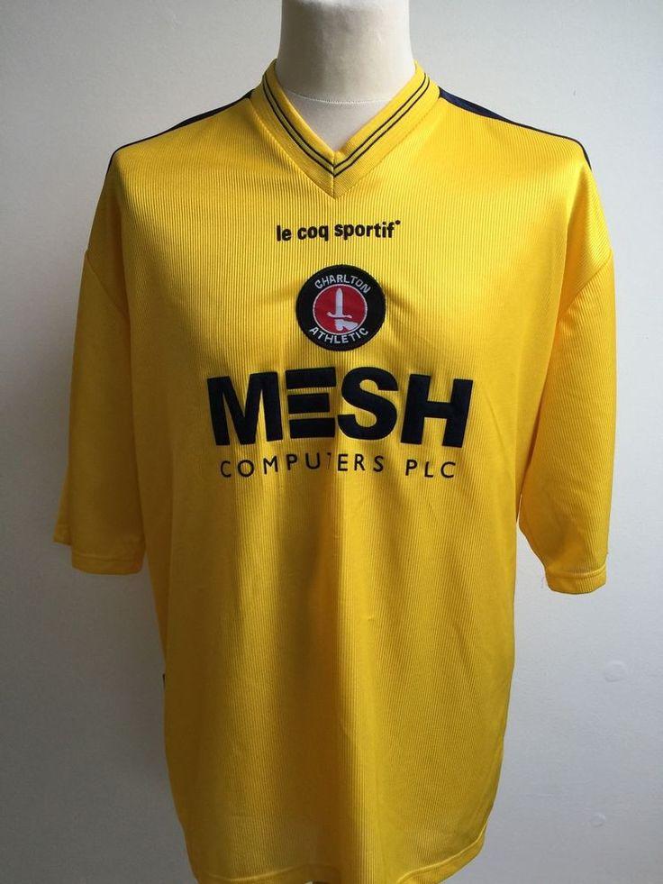 CHARLTON ATHLETIC Football Shirt 1999-2000 AWAY Size XXL 2XL 46/48  | eBay