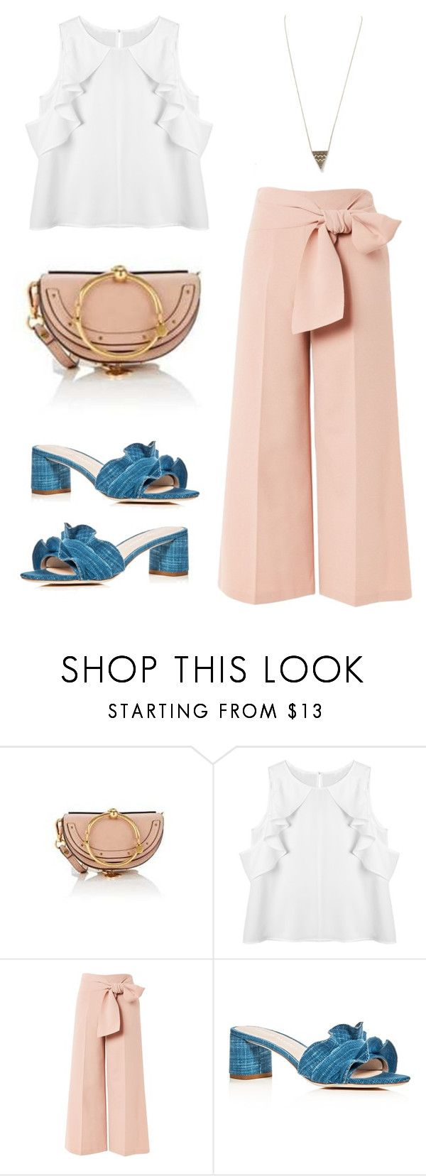 August Your Bijoux Box - House of Harlow by yourbijouxbox on Polyvore featuring Topshop, Loeffler Randall, Barneys New York and House of Harlow 1960