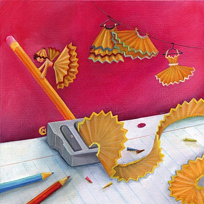 Pencil Pixies. A teacher's bff.  Marie Cardouat