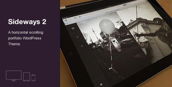 Very cool theme! Sideways 2 - Portfolio & Blog WordPress Theme - Portfolio Creative