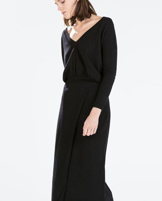 Zara kleid lederoptik