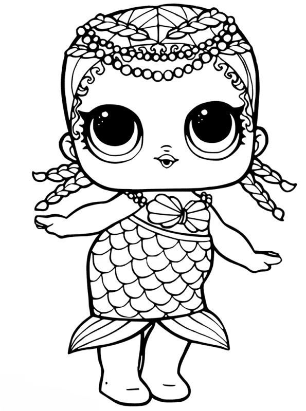 L O L Surprise Dolls Coloring Pages Coloring Page Unicorn Coloring Pages Mermaid Coloring Pages Mermaid Coloring
