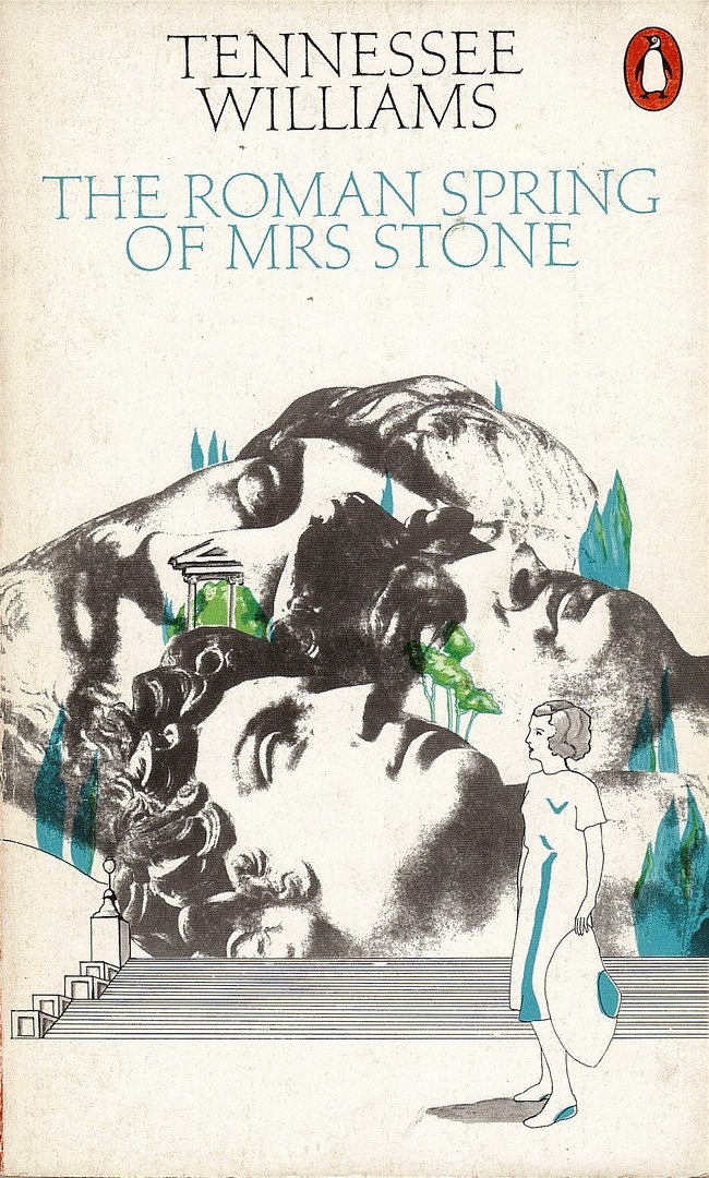 tennessee williams' the roman spring of mrs. stone, penguin paperback cover