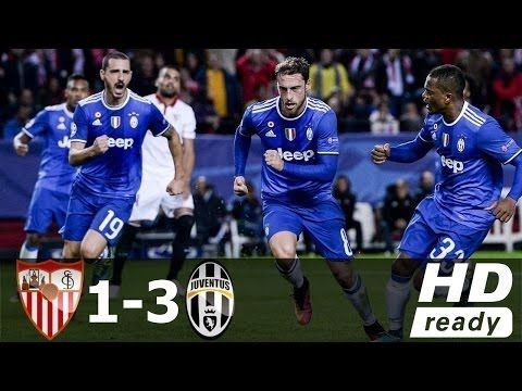 Sevilla vs Juventus 1 3 ●Highlights & All Goals● Champions league HD 23 ...