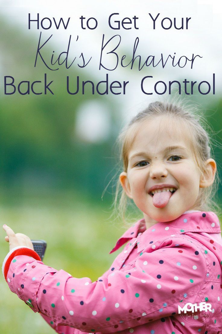 How to get your kids behavior back under control when it has been sliding. Good read for mothers of toddlers, preschoolers, and elementary aged students.