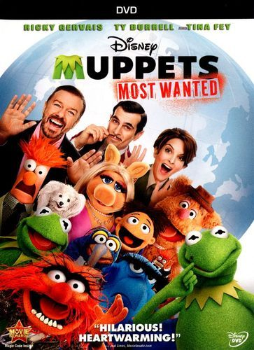 The Muppets Most Wanted [DVD] [2014] | Products in 2019 ...