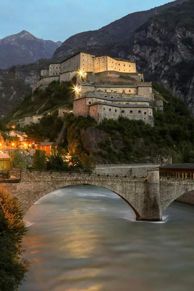 Fort Bard, Italy: Where part of Avengers: Age of Ultron was filmed. Only a few hours from here!