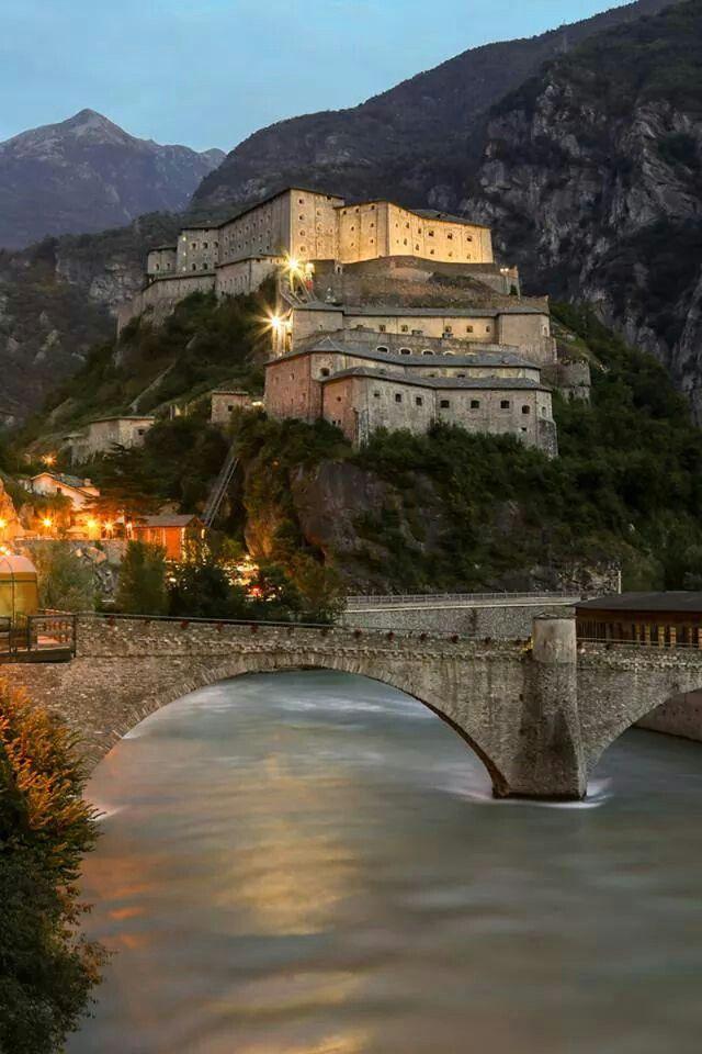 Forte di Bard.Foto di Enrico Romanzi.