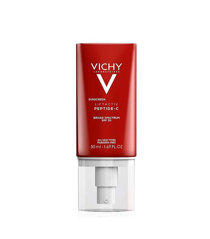 Vichy Laboratoires Liftactiv Sunscreen Peptide C Face Moisturizer With Spf 30 In 2020 Spf Sunscreen Moisturizer With Spf Sunscreen