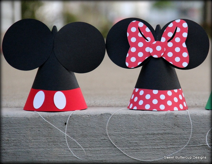 Mickey Mouse Club House Party..here's another cute idea Nevaeh