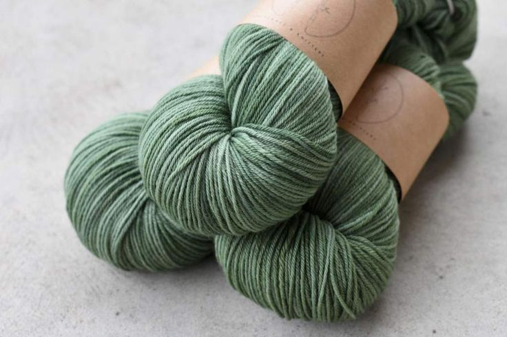 Hand-dyed yarn from knitcraft & knittery. Colourway Brockenshire.