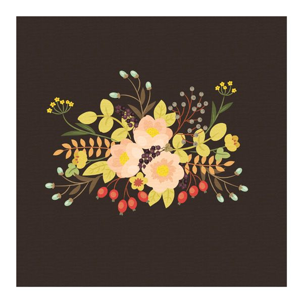 How to Create a Vintage Floral Arrangement Painting in Adobe Illustrator tutorial