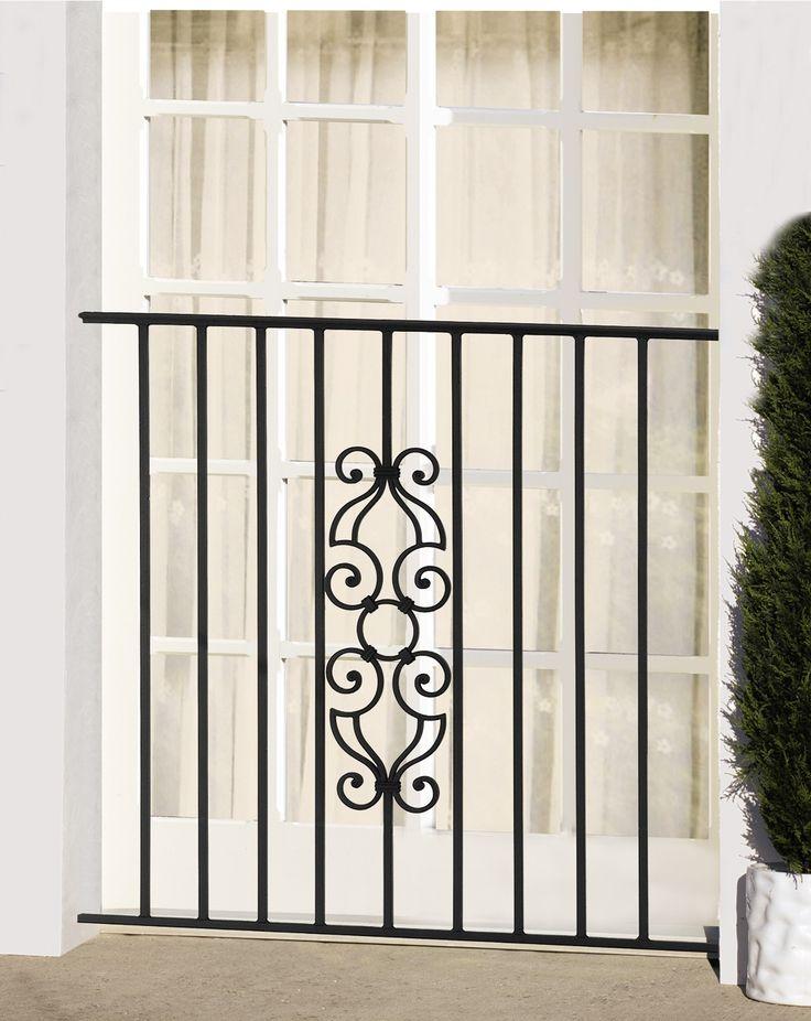 28 best portail images on pinterest balconies decks and - Garde corps fenetre ...