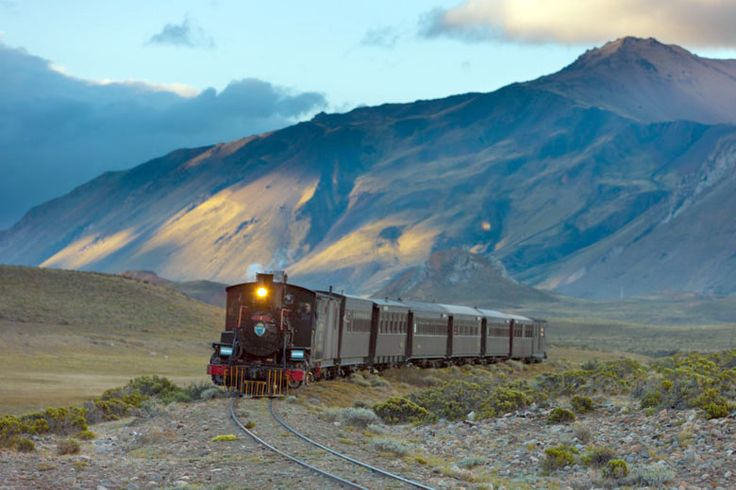 La Trochita (aka. The Patagonian Express) is one of the last railways on earth to operate solely on steam. The narrow gauge line snakes its way across the desolate high plains of Argentina, and the trains are still hauling revenue freight and passengers as of 2015.
