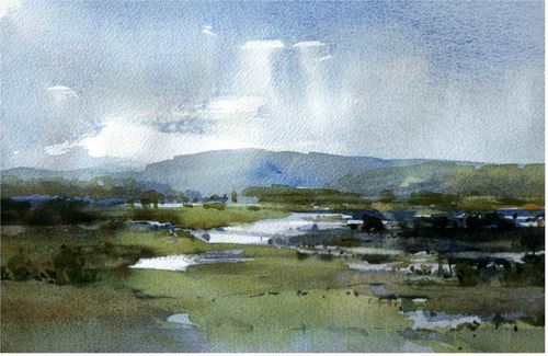 Watercolour landscapes - WetCanvas - Chris Robinson