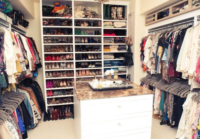 A closet is a girls best friend