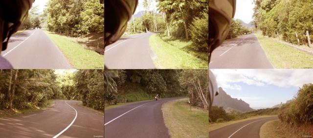 Riding the open road Moorea Tahiti
