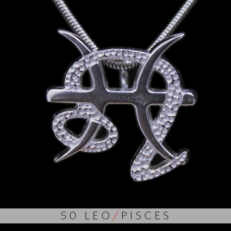 50 Leo and Pisces Silver Unity Pendant. $99.99, via Etsy.