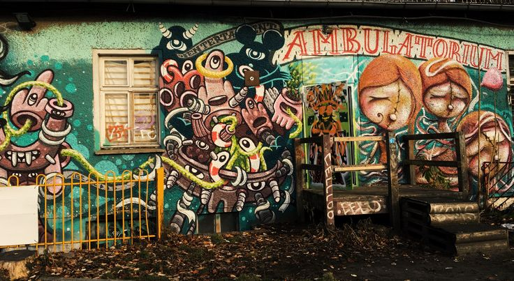 Sanatorium #ambulatorium #sanatorium #berlin #streetart #travelling
