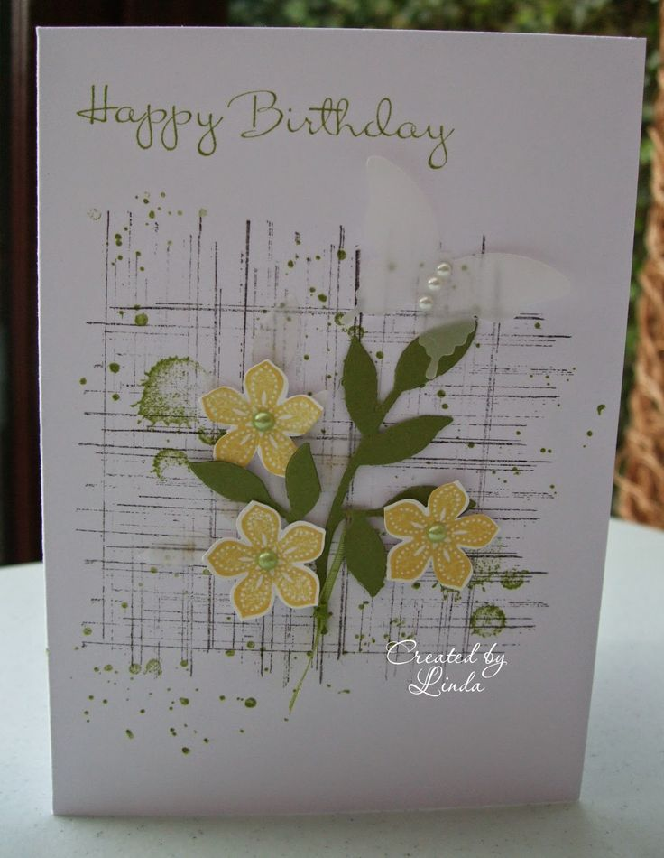 Today I wanted to share some gorgeous handcrafted cards which I received for my birthday and Easter last week              Above card from m...