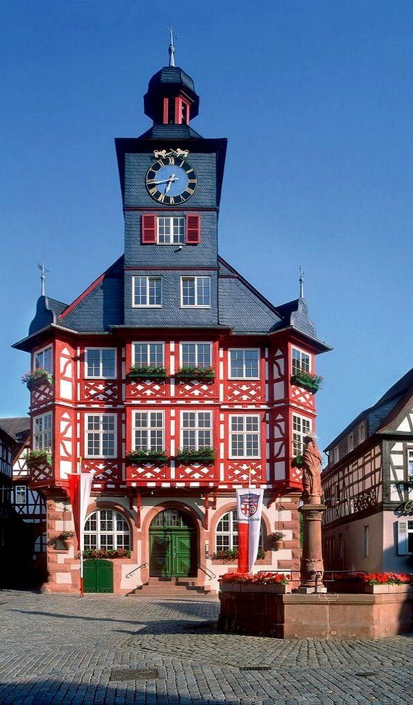 The Town Hall at Market Square ~ Heppenheim, Hesse, Germany | by HEMO--RINDO