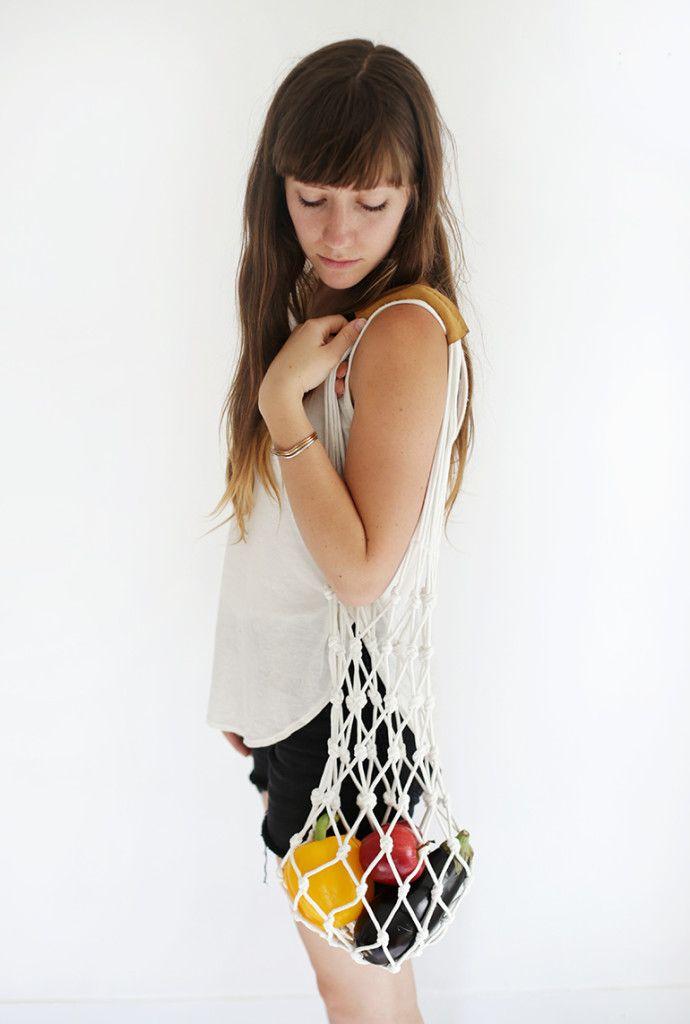 DIY Rope Market Bag