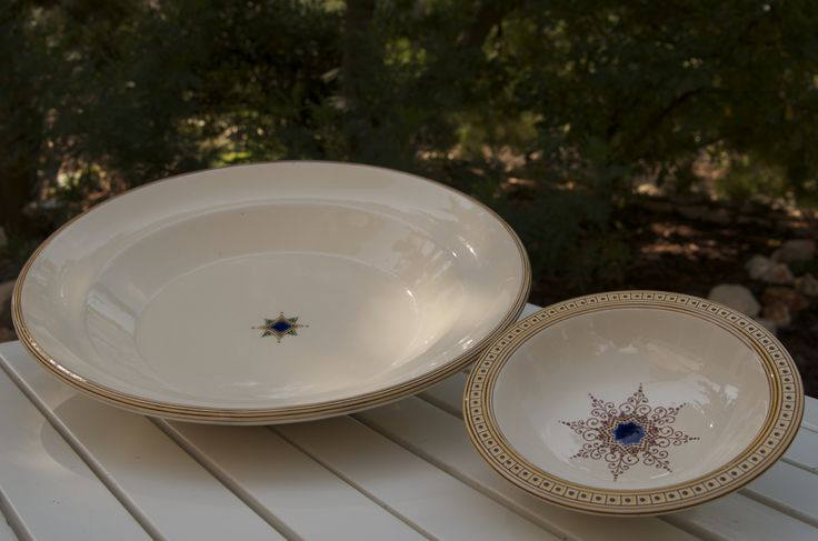 Amazing dinnerware by Francesco Fasano