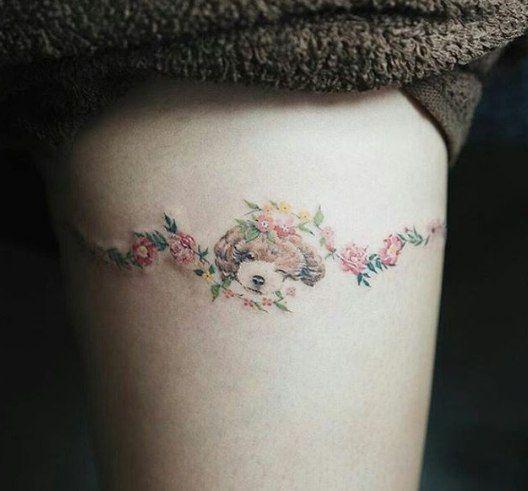Маленькие татуировки | 230 фотографий