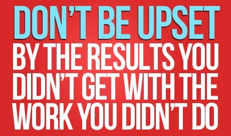 It takes hard work