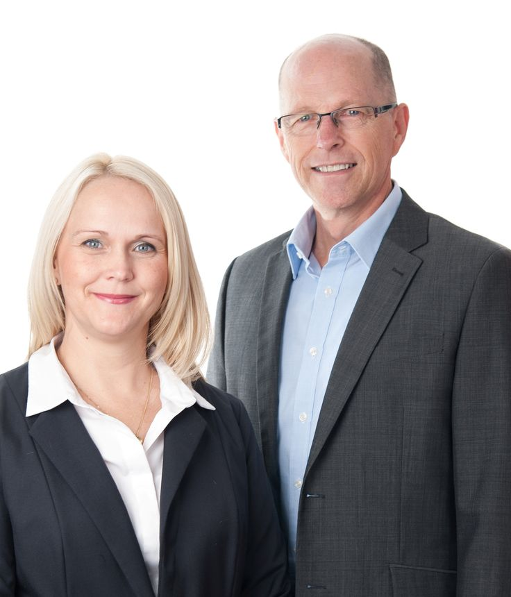 Branch Manager, Justine with the Chairman of the Board, Garry White. Our two leaders!