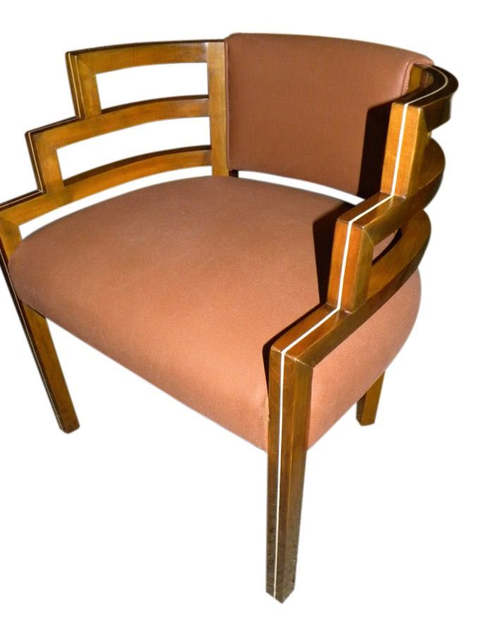 art deco era furniture. kem weber style art deco side chair seating items collection era furniture