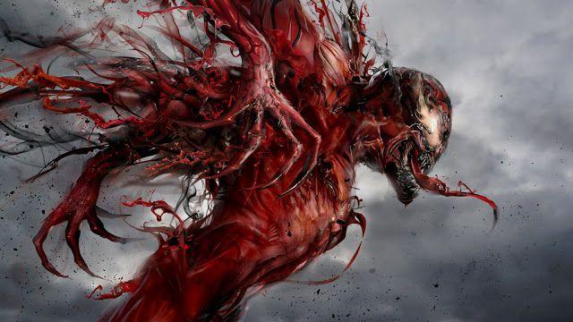 Carnage (Cletus Kasady) - Marvel Comics Super Villains Spider-Man enemy Venom symbiote artwork characters #Carnage #Villains #Marvel #Spider-Man #Enemy