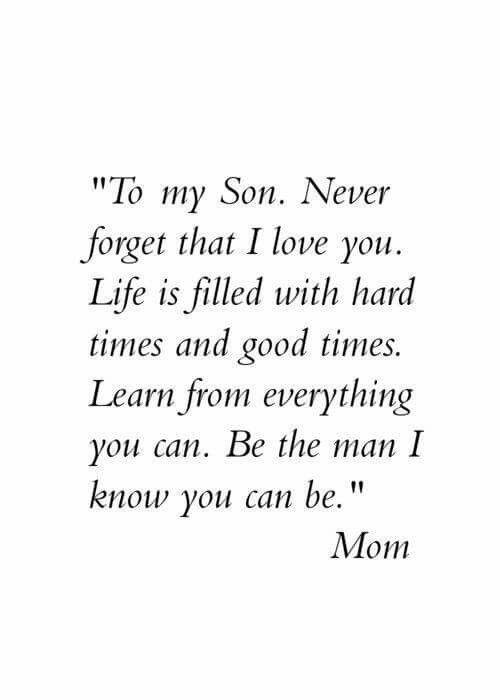 Quotes About Being A Mom To A Son 1000+ Son Birth...