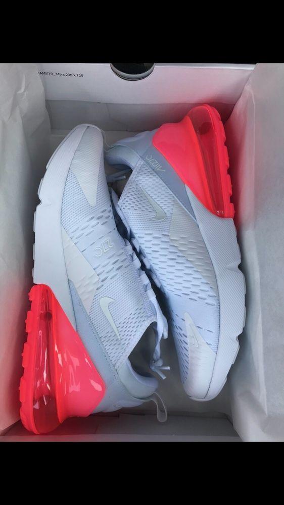 designer fashion d977f d9e40 Men s Nike Air Max 270 White   Hot Punch AH8050 103 Mens 10.5  fashion   clothing  shoes  accessories  mensshoes  athleticshoes (ebay link)