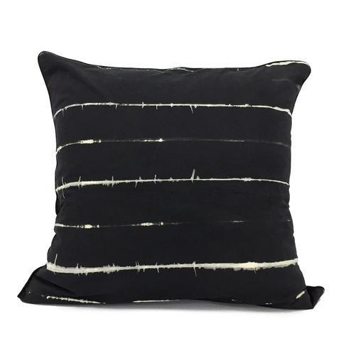 Cushion cushion 60x60 cm Handmade by Portuur in Cape Town, South Africa. Shibori  textiles traditional techniques