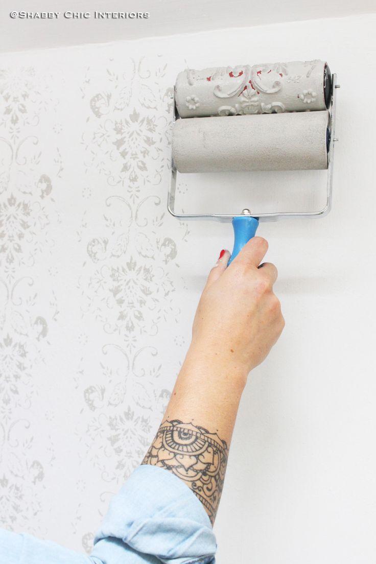 Rullo decorativo: come abbellire una parete