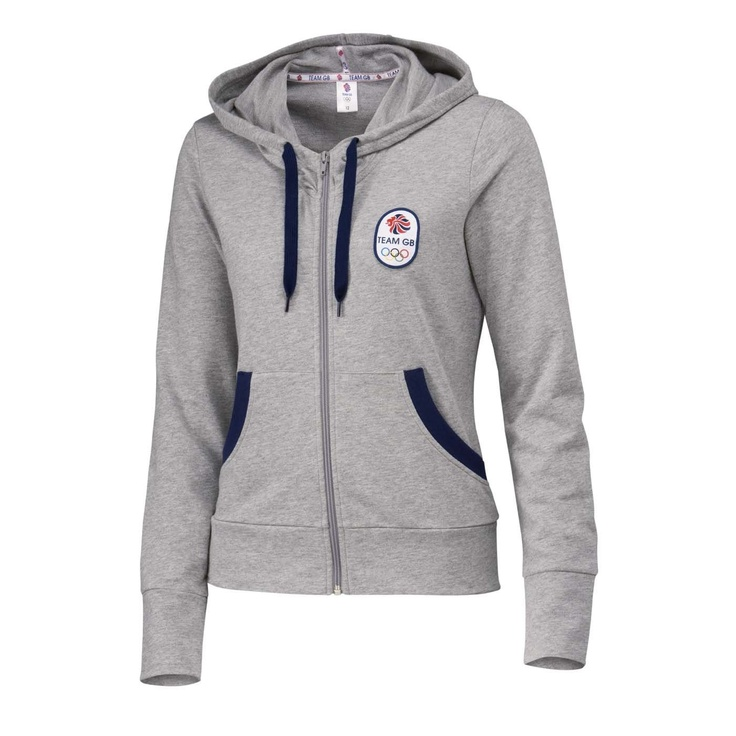Team GB women's zip-up hoodie - size 10 - from shop.london2012.com
