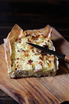Rezept für Zwiebelkuchen Low Carb - Schön und fein