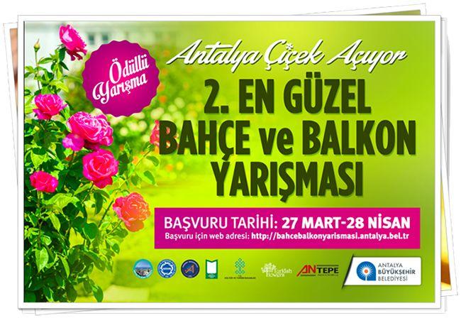 Antalya Çiçek Açıyor | .Konyaltı
