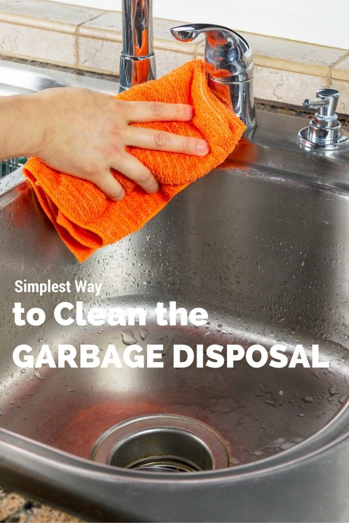 simplest way to clean your garbage disposal the o 39 jays garbage disposals and cleanses. Black Bedroom Furniture Sets. Home Design Ideas
