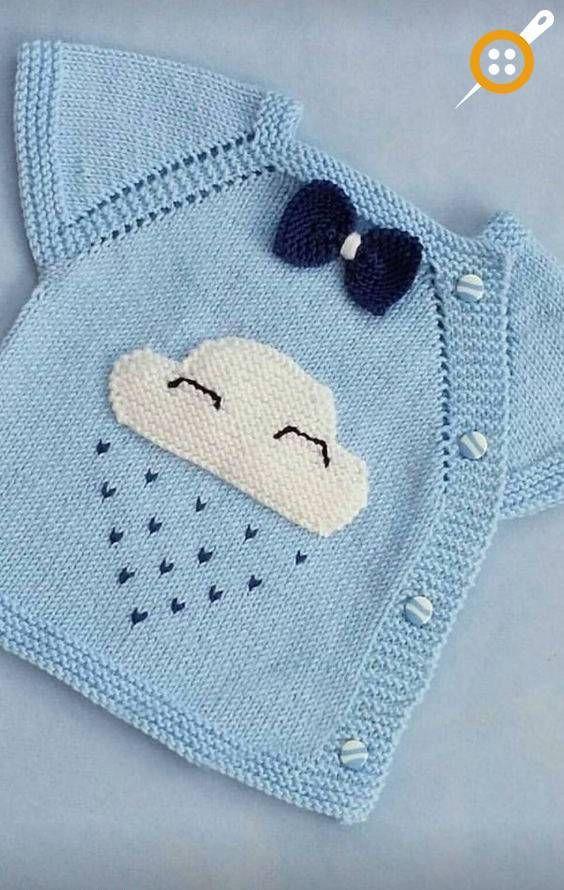 Bebek Yeleği Süsleme Teknikleri – Bebekler İçin Örgü Yelek Süslemeleri
