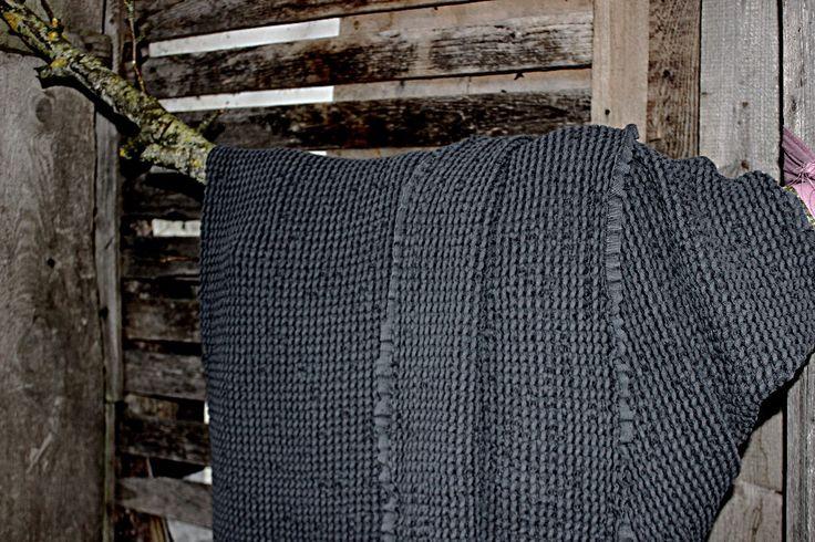 Coperta del tiro lino. Super morbido lino pesante. Tiro di lino carbone di legna. Coperta di lino martellata. Coperta lino waffle. divano lino gettare / regalo per lui di BalticLinenIdille su Etsy https://www.etsy.com/it/listing/488729546/coperta-del-tiro-lino-super-morbido-lino
