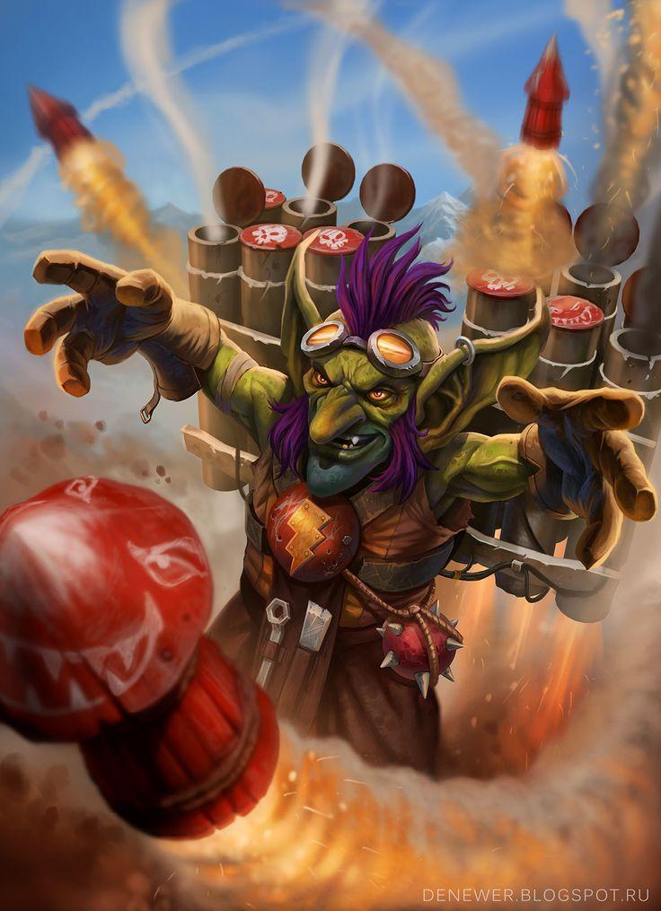 ArtStation - Rocket Goblin, Den Petrov