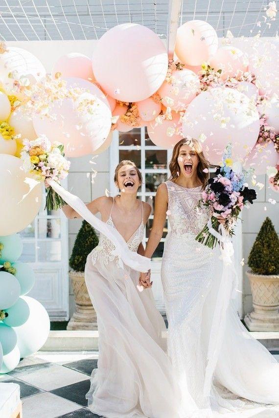 10 Balloon Arch Ideas For Your Wedding 100 Layer Cake Wedding